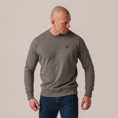 "Sweatshirt ""Plain"" Grey"