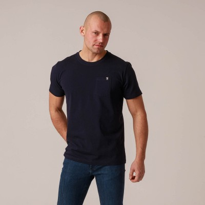"T-shirt ""Pocket"" Navy"