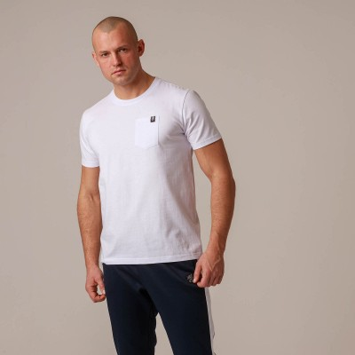 "T-shirt ""Pocket"" White"