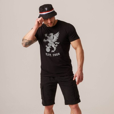 "T-shirt ""Gryphon BIG"" Mono Black"