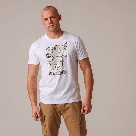 "T-shirt ""Gryphon BIG"" White"