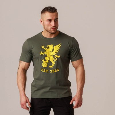 "T-shirt ""Gryphon BIG"" Olive"