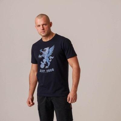 "T-shirt ""Gryphon BIG"" Mono Navy"