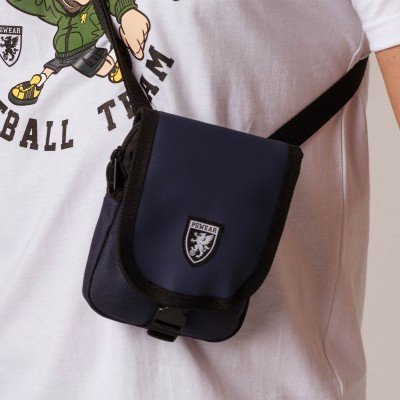 "Shoulder Bag ""Pusher"" Navy"