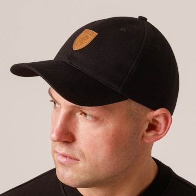 "Baseball Cap ""Leather Logo"""