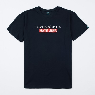 Ultras-Tifo 21SS T-shirt Hate UEFA S