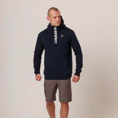 NRBSS202125 Hoodie NO RESPECT Summer21 Navy S
