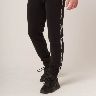 NRBSS202111 Sweatpants NO RESPECT Black S