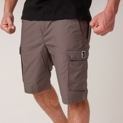 NRBSS202109 Cargo Shorts NO RESPECT Grey S