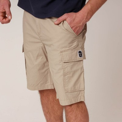 NRBSS202108 Cargo Shorts NO RESPECT Sand S