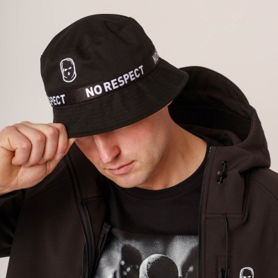 NRBSS202105 Bucket Hat NO RESPECT