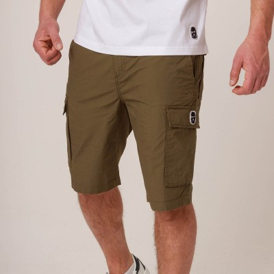 NRBSS202110 Cargo Shorts NO RESPECT Khaki S