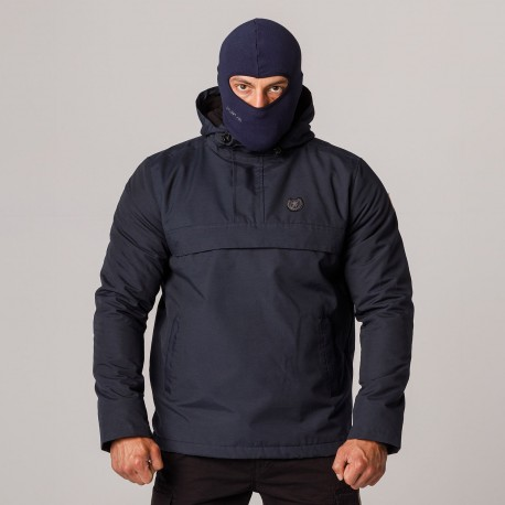 """AW21 Full Face Jacket """"Attack"""" Navy S"""