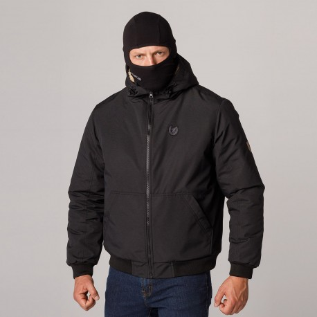 """AW21 Full Face Jacket """"Attack"""" Black S"""