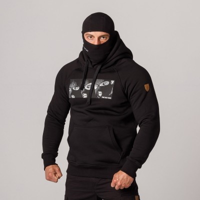 """AW21 Full Face Hoodie """"The No Face"""" S"""