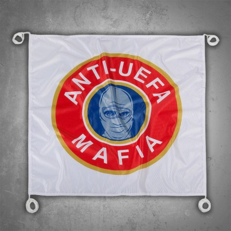 Ultras-Tifo Flag Anti Uefa Mafia